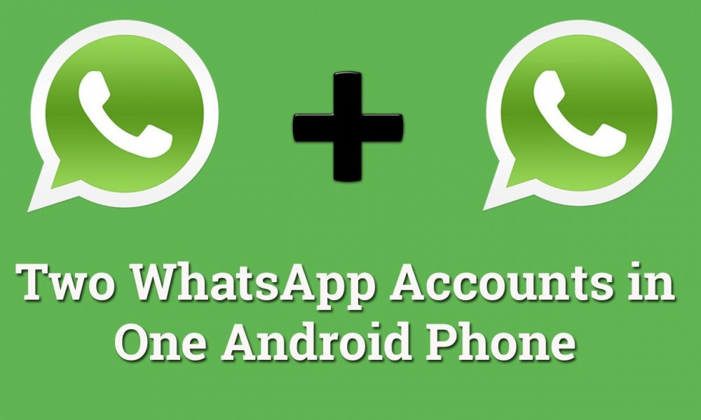 Almost all Android smartphones nowadays include support for dual-SIM card slots, permitting users to use 2 completely different numbers on one device. formally you can't use Duble WhatsApp accounts in one smartphone.