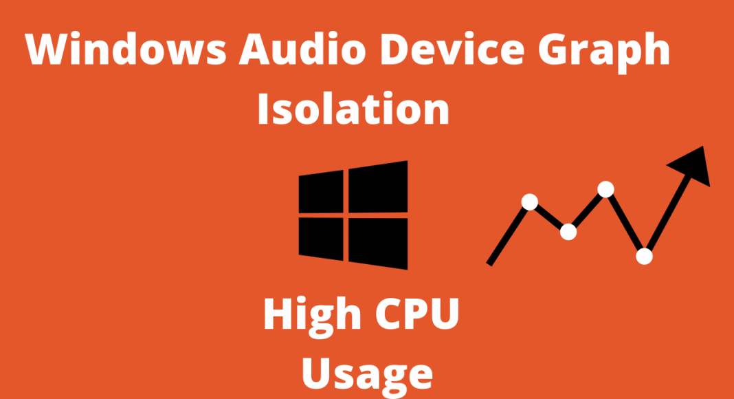 windows audio device graph isolation high cpu