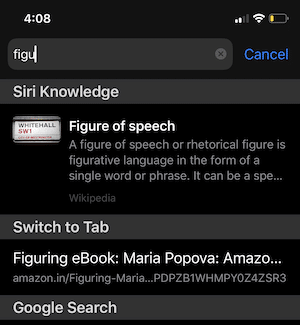 Safari Switch to Tab iOS 13