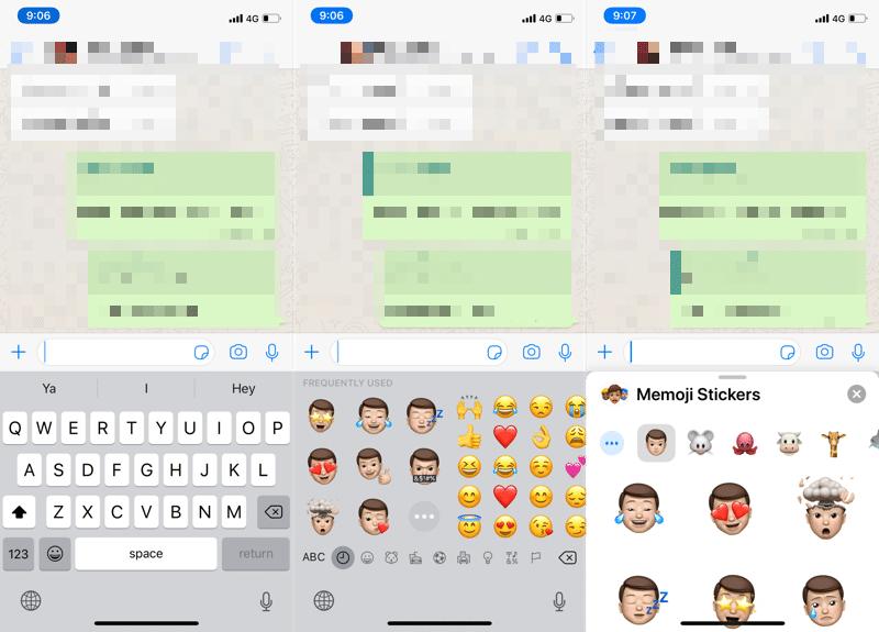 how to use memoji stickers iOS 13 2