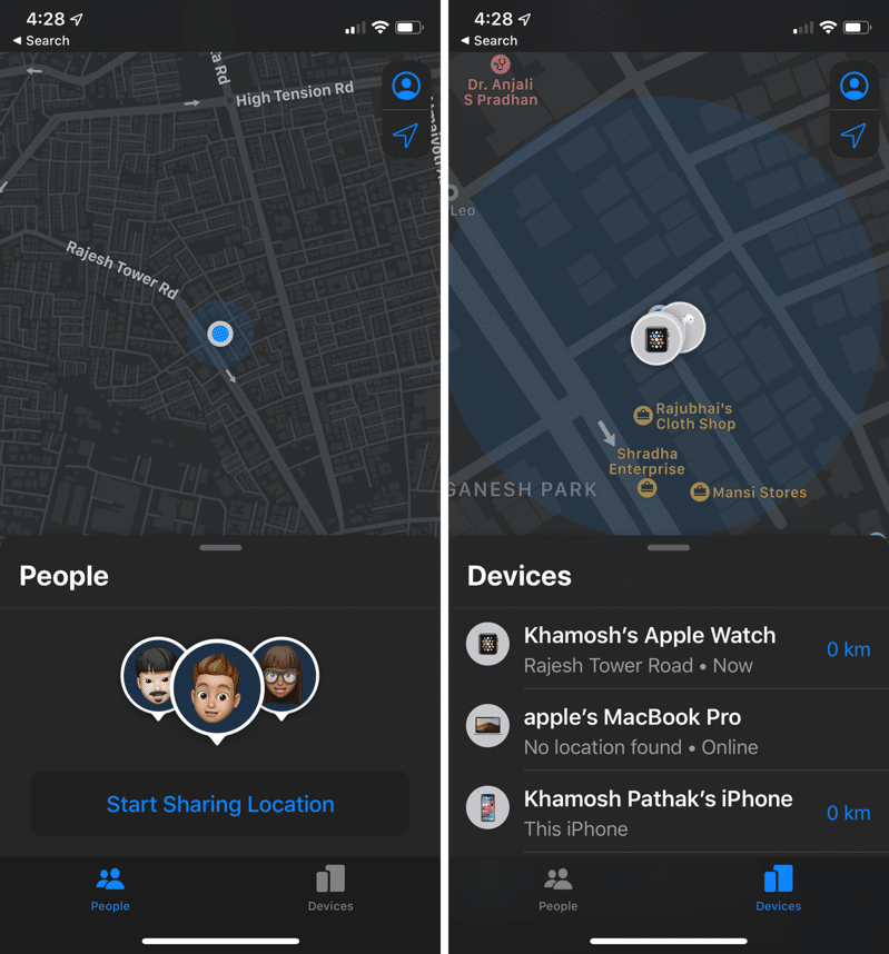 iOS 13 Find My App Hands On 1