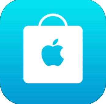 Apple Store iOS app icon