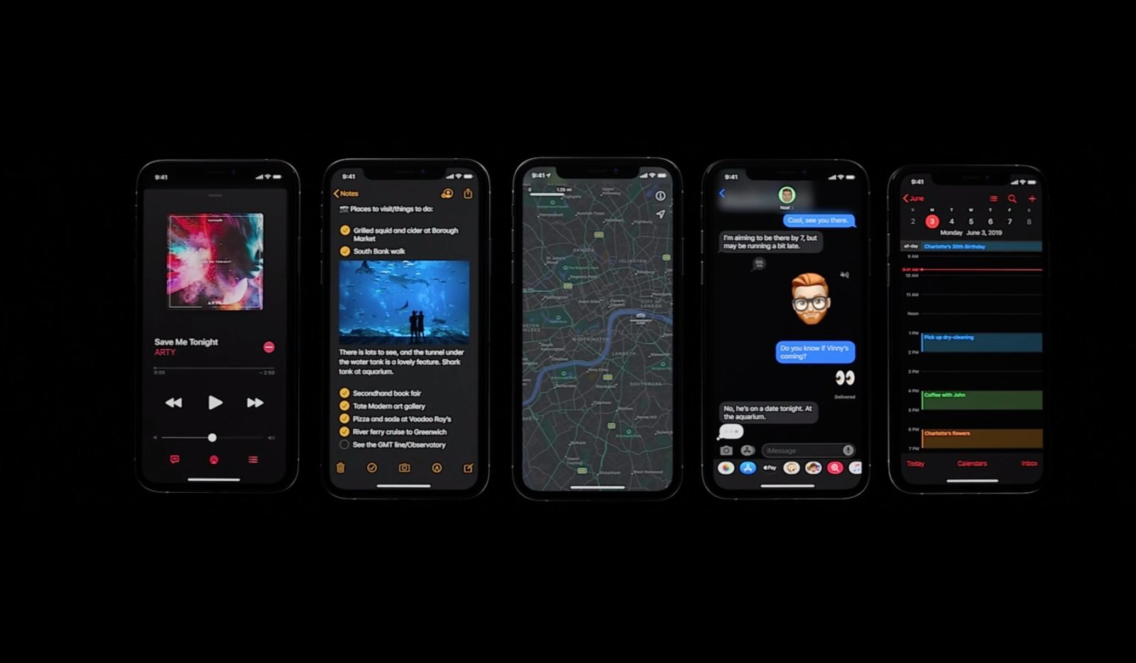 How Dark Mode Works for iPhone and iPad on iOS 13