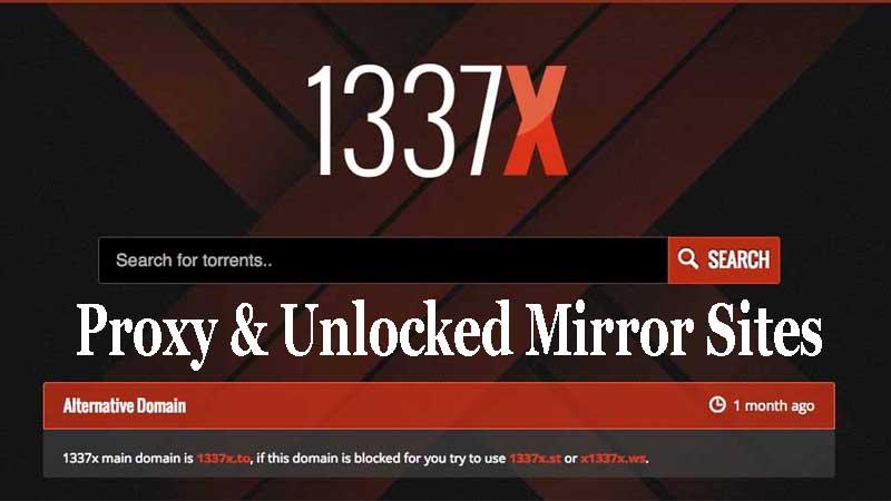 1337x proxies