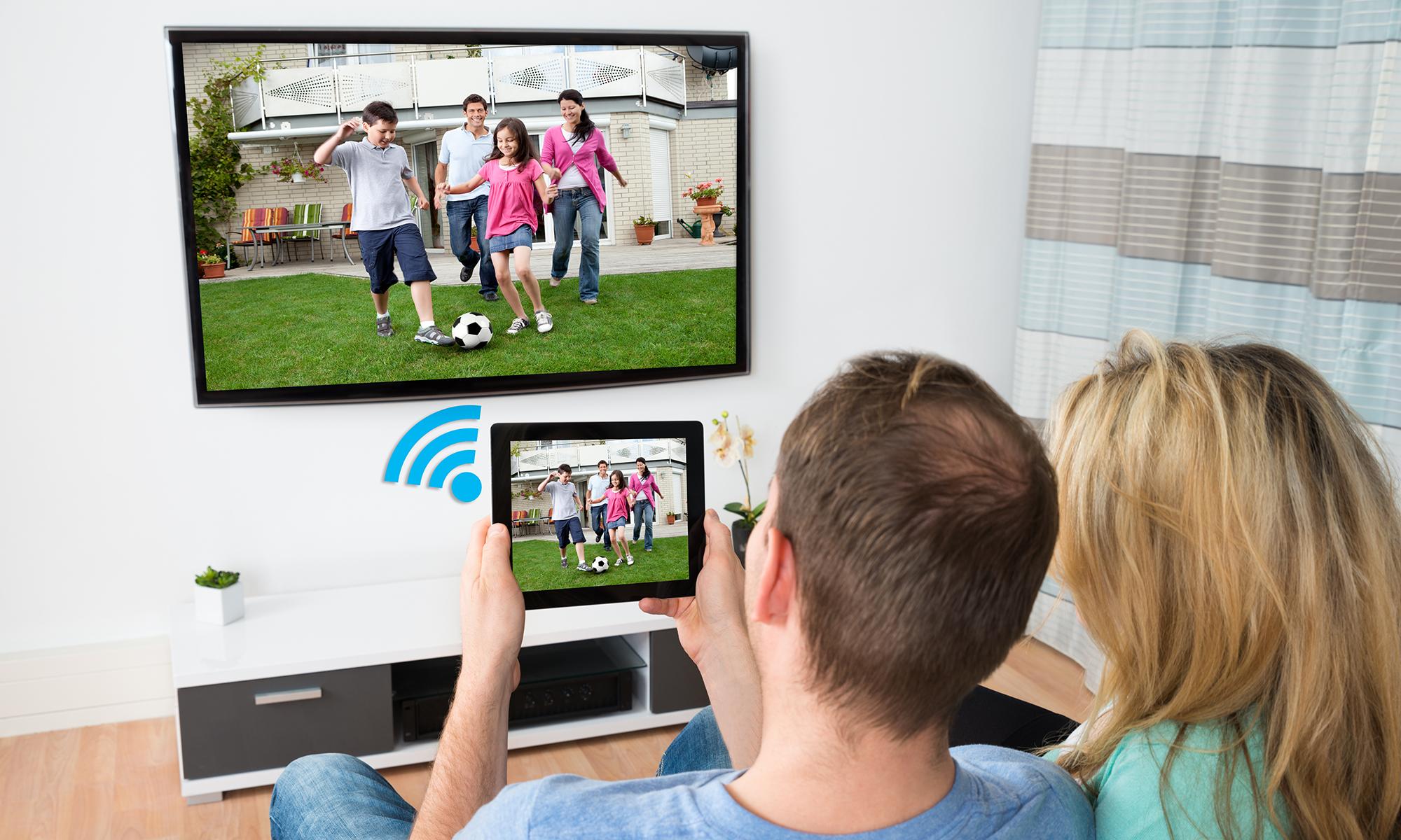 set up a second TV