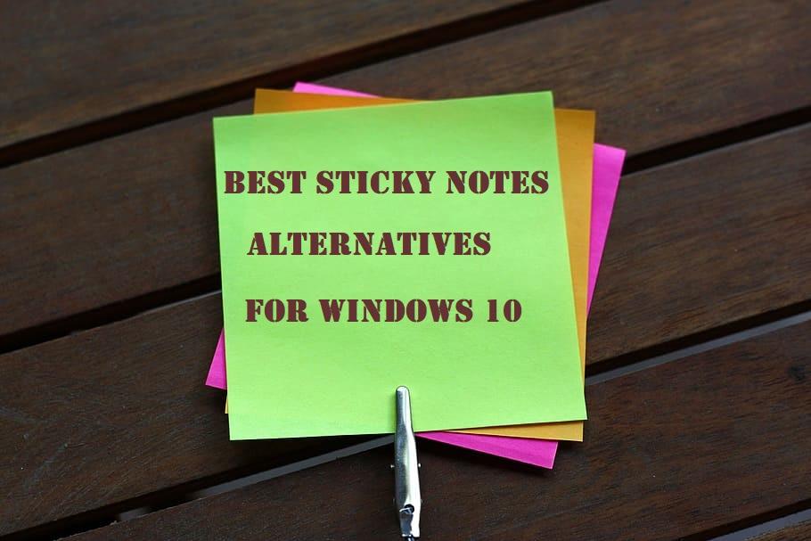 Sticky Notes Alternative, Sticky Notes