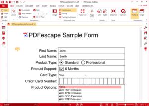 open source pdf editor