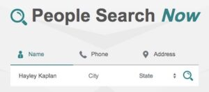 People Search Now