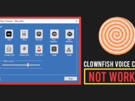 Clownfish voice changer not working reddit